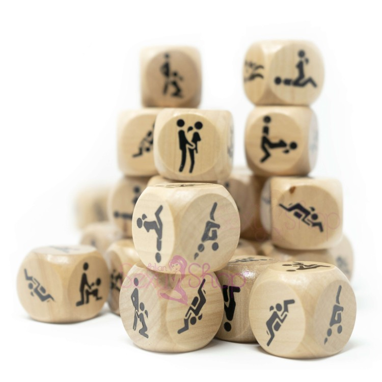 Wooden nut with Kamasutra Positions Erotic Game for couples Bachelor Party